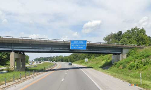 ky interstate 24 kentucky i24 christian welcome center mile marker 92 westbound exit