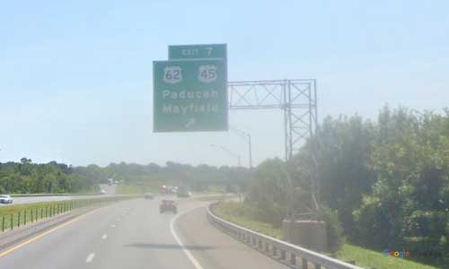 ky interstate 24 kentucky i24 whitehaven welcome center mile marker 7 eastbound-exit