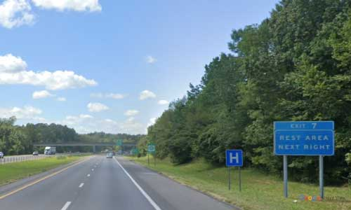 ky interstate 24 kentucky i24 whitehaven welcome center mile marker 7 westbound-exit