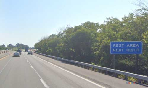 ky interstate 64 kentucky i64 clark county rest area mile marker 98 eastbound exit