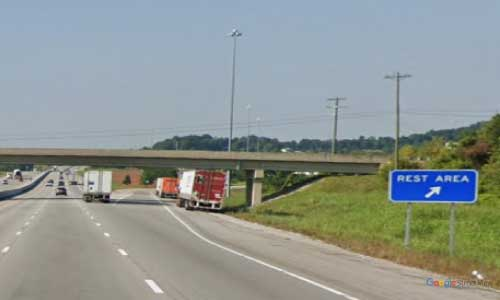 ky interstate 65 kentucky i65 hart county rest area mile marker 59 southbound exit