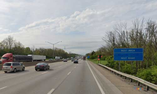 ky interstate 71 interstate 75 kentucky i71 i75 boone county rest area mile marker 176 southbound exit