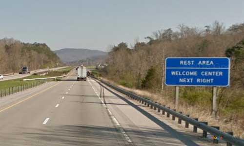 ky interstate 75 kentucky i75 williamsburg welcome center mile marker 1 northbound exit